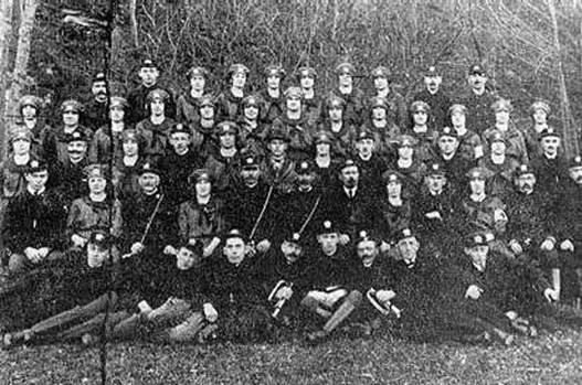 Hasičský spolek kolem roku 1925